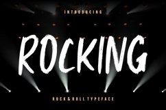 Rocking Rock & Roll Typeface Product Image 1