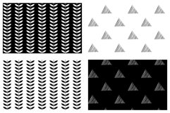 25 unique Hand Drawn Patterns Product Image 6