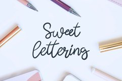 Butterfly - a lovely script font Product Image 2