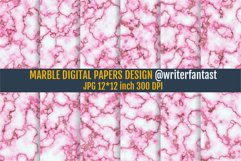 Digital Papers Marble With Gold Product Image 1