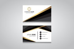 Creative and Clean Vector Business Card Template Product Image 1