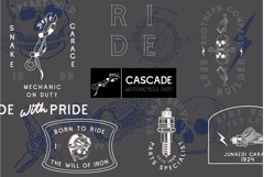 Cascade Motorcycle font Product Image 2