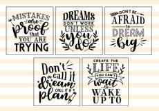 Motivational Quote SVG Cut Files Bundle Product Image 4