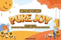Pure Joy - Funny Font Product Image 1