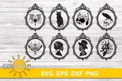 Halloween SVG Bundle   Gothic SVG bundle 16 designs Product Image 1