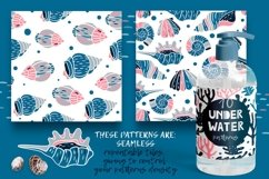UNDERWATER | Seamless patterns pack Product Image 4