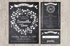 Chalk Invite Creator Bundle Wedding Save Date Vintage Event Product Image 3