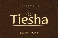 Web Font Tiesha Font Product Image 1