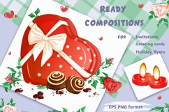 Valentine's Day. Vector clipart. Elements. Product Image 4