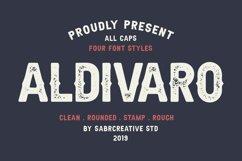Aldivaro Font Family Product Image 1