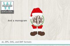 Christmas SVG - Christmas Monogram Product Image 2