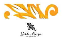Golden Crops - Grain Bristle Stock Logo Template Product Image 3