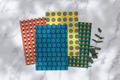Colorful Geometric Papers Product Image 2