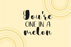 Sweet Melon Font Duo Product Image 2