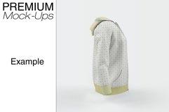 Women's Full-Zip Hoodie Mockup Product Image 2