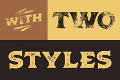 Old Spirits Display Font Product Image 6