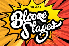 Blooqe Stages   Bold Script Font Product Image 1