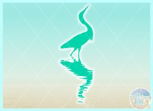 Birds In Water Silhouette Bundle Svg Dxf Eps Png PDF Product Image 7