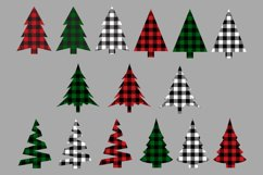 Christmas Tree Buffalo Check Plaid SVG Bundle Product Image 2