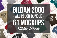 Gildan Mockup Bundle All Colors Mens Tshirt Mock Up Bundle Product Image 1