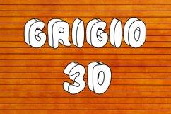 Grigio 3D SVG Color Font Product Image 1