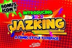 Jazking A Comic Typeface Bonus Icon Product Image 1