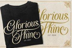Agenda King - Vintage Script Font Product Image 5