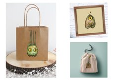 Watercolor collection Eye fruits Product Image 3