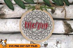 Christmas Ornament SVG - Mandala SVG Bundle Product Image 9