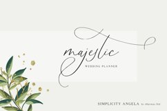 Simplicity Angela - Calligraphy Font Product Image 4