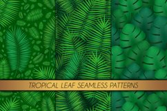 Tropical leaves and flowers set. Product Image 3