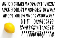 Puckery Tart - a tasty lettering font! Product Image 2