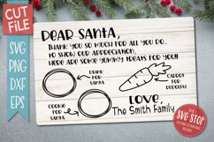 Santa Cookie Tray BUNDLE - SVG, PNG, DXF, EPS Product Image 2