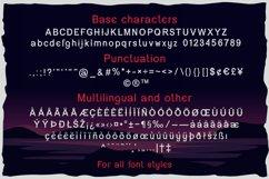 Dark surfer - vintage label font Product Image 2