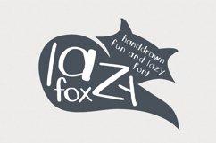 LazyFox Hand Drawn Font Product Image 1