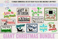Giant Christmas Bundle of 12 SVG Cut Files LLC Product Image 1