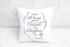 Christian SVG Bundle - 6 Bible Verse Designs Product Image 5