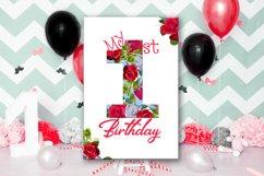 Birthday Card, Happy First Birthday,Cute 1st Birthday, SALE Product Image 5