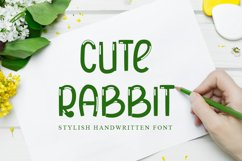 Cute Rabbit Product Image 1