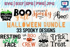 Halloween bundle svg, fall, october, witch, png, dxf Product Image 1