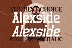 Alexside - Premium Slab Font Product Image 3