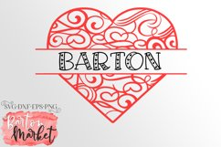 Heart Split Monogram for Crafters Product Image 1