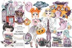 School Halloween Clipart Product Image 1