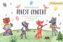 Forest Concert Watercolor Set Product Image 1