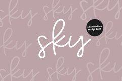 Sky - Handwritten Script Font Product Image 1