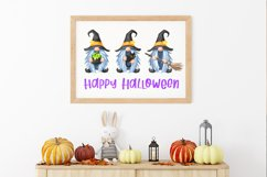 Halloween sublimation designs fall Halloween witch gnomes Product Image 6