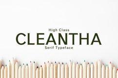 Cleantha Serif Typeface Product Image 1