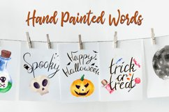 Halloween Watercolor Clip Art Pack! With SVG/Vector Versions Product Image 3