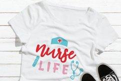 Nursing Life Svg File  Medical Worker Heroes Shirt Product Image 3