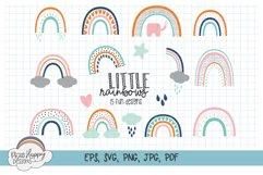 Little Rainbows - 15 Fun Rainbow Designs Product Image 1
